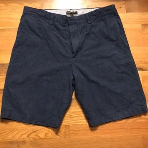 Mens shorts; blue S34 100% cotton Banana Republic